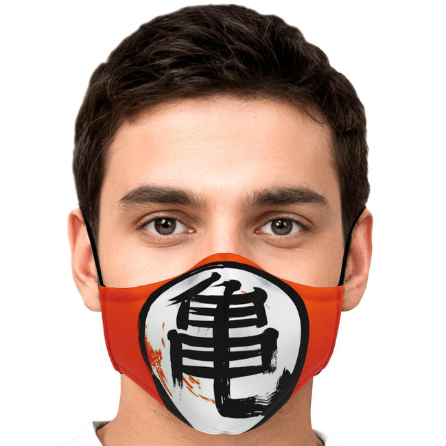Dragonball Z Kame V1 Premium Carbon Filter Face Mask
