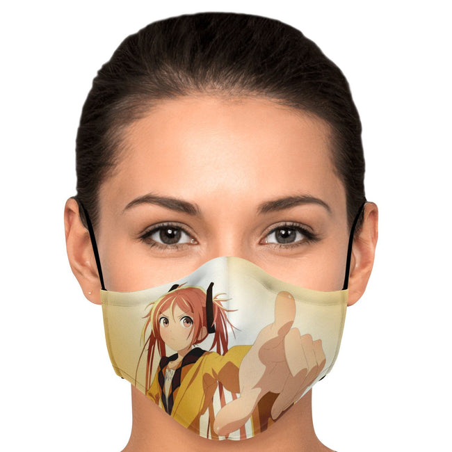 Enju Aihara Black Bullet Premium Carbon Filter Face Mask