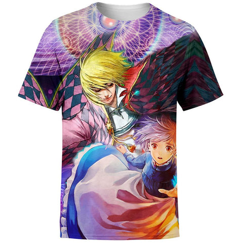 Image of Enlightened howls Moving Castle T-Shirt