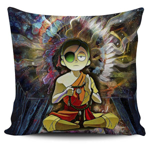 Enlightened Morty Pillow Cover