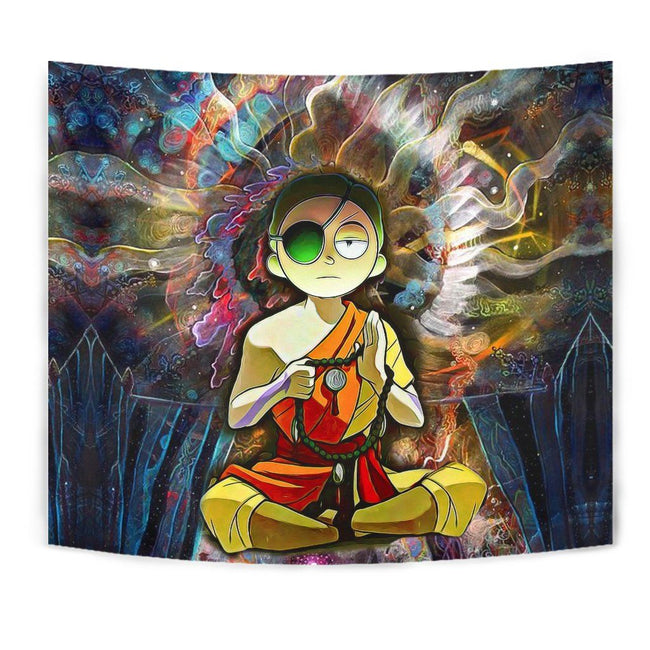 Enlightened Morty Tapestry