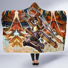 Eradic Eren Hooded Blanket