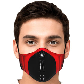 Ermac Mask Mortal Kombat Premium Carbon Filter Face Mask