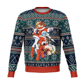 Evangelion 3D Ugly Christmas Sweater