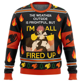 FAIRYTALE NATSU fired up Premium Ugly Christmas Sweater