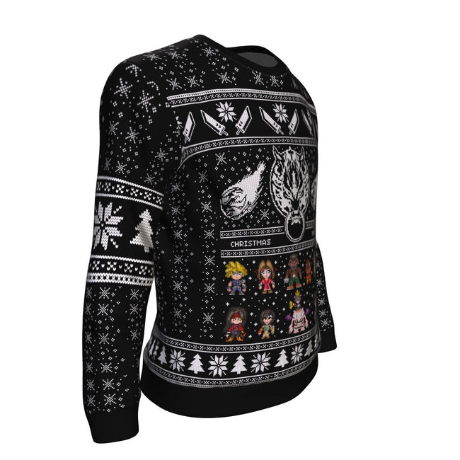 Final Fantasy VII 3D Ugly Christmas Sweater