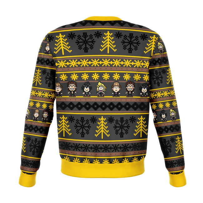 Final Fantasy Zack 3D Ugly Christmas Sweater