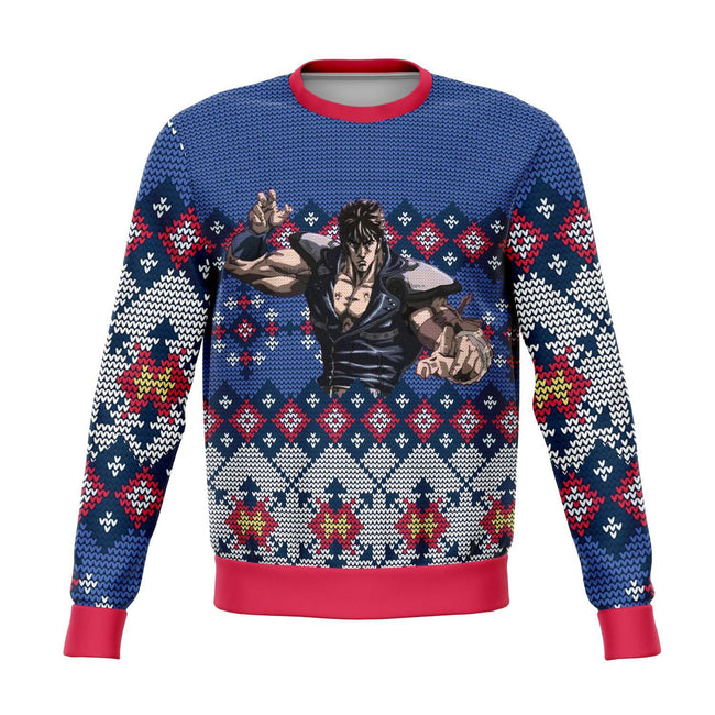 Fist of the North 3D Ugly Christmas Sweater