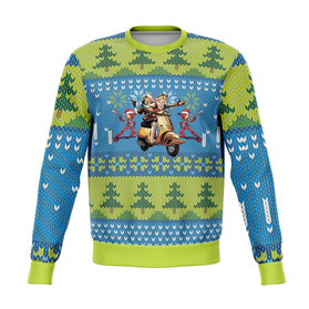 FLCL 3D Ugly Christmas Sweater
