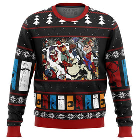 FLCL Fooly Cooly Holidays Premium Ugly Christmas Sweater