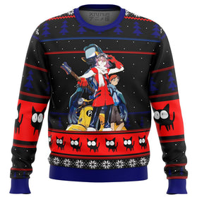 FLCL Poster Premium Ugly Christmas Sweater