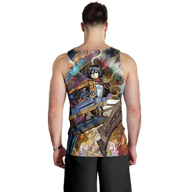 Focused Mikasa Premium Tank Top