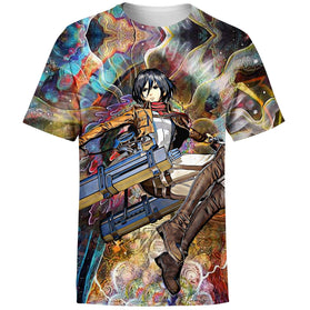 Focused Mikasa T-Shirt