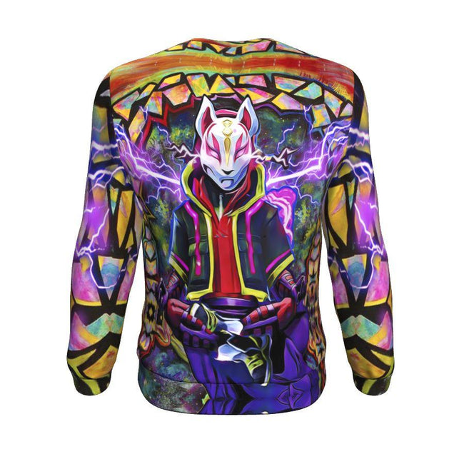 fortnite kitsune drift mask Sweatshirt