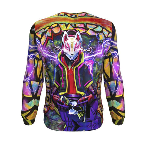 Image of fortnite kitsune drift mask Sweatshirt