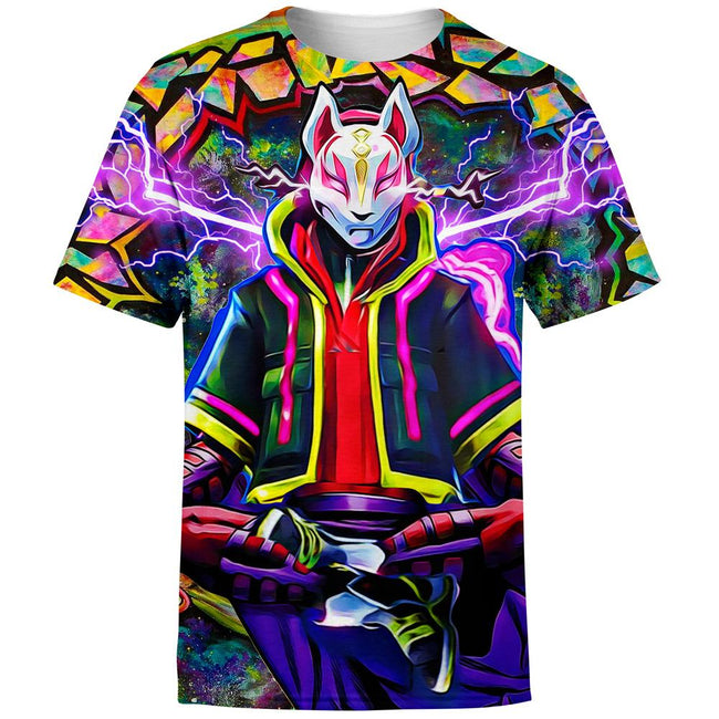 fortnite kitsune drift mask T-Shirt