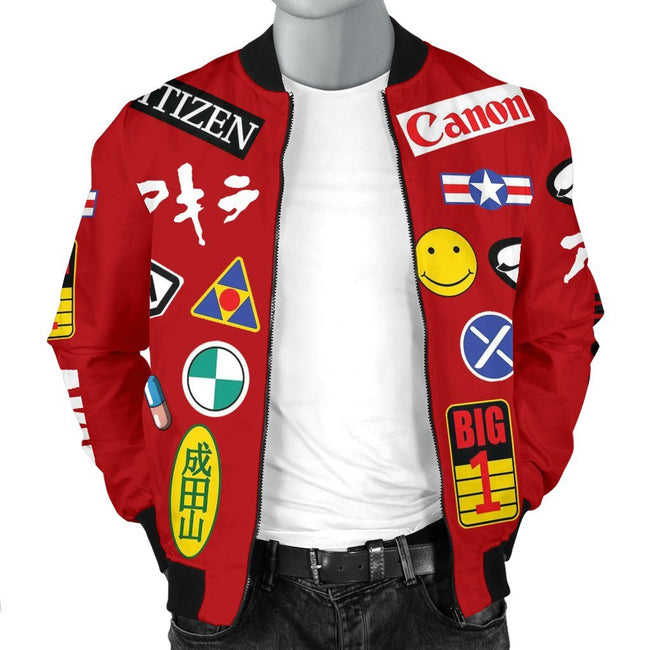 Full Decals Akira Custom Bomber Jacket