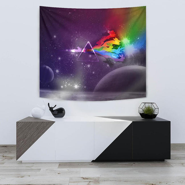 Galaxy Eveeelutions Pokemon Wall Tapestry
