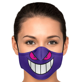 Gengar Pokémon Premium Carbon Filter Face Mask