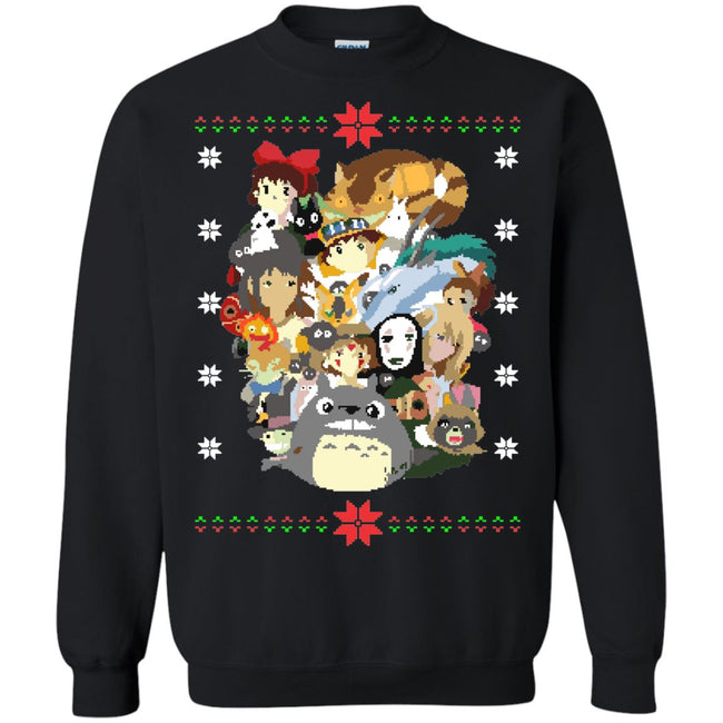 Ghibli Xmas Ugly Christmas Sweater