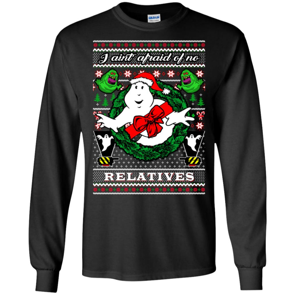 Ghostbuster Ugly Christmas Sweater