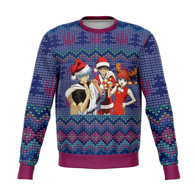 Gintama 3D Ugly Christmas Sweater