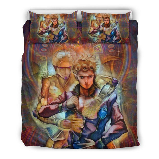 Giorno Giovanna Golden Wind Jojo's Bizarre Adventure Bedding Set