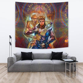 Giorno Giovanna Golden Wind Jojo's Bizarre Adventure Wall Tapestry