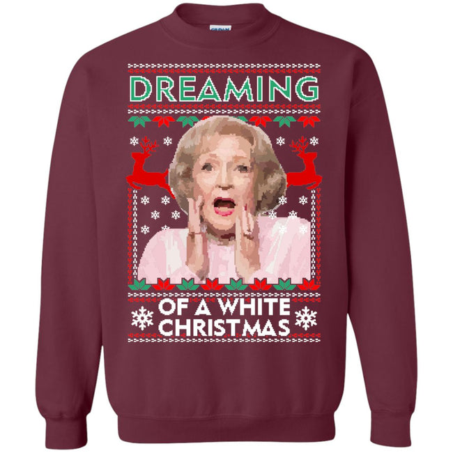Golden Girls White Ugly Christmas Sweater