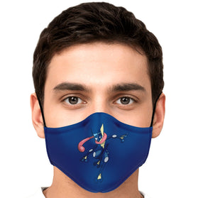 Greninja Pokémon Premium Carbon Filter Face Mask