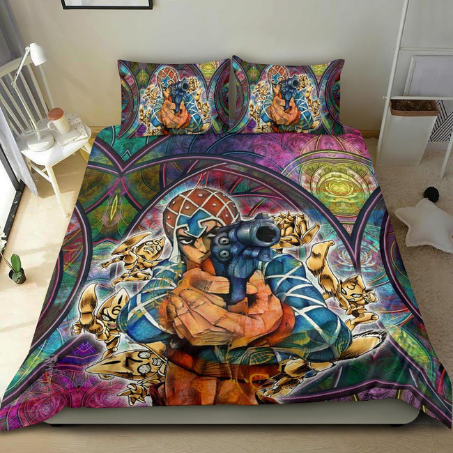 Guido Mista Six Bullets Jojo's Bizarre Adventure Bedding Set