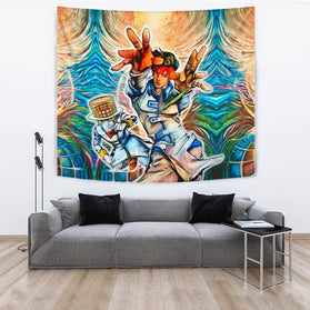 Gyro Zeppeli Ball Breaker Jojo's Bizarre Adventure Wall Tapestry