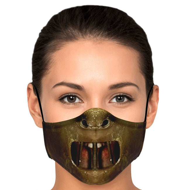 Hannibal Iconic Horror Mask Premium Carbon Filter Face Mask