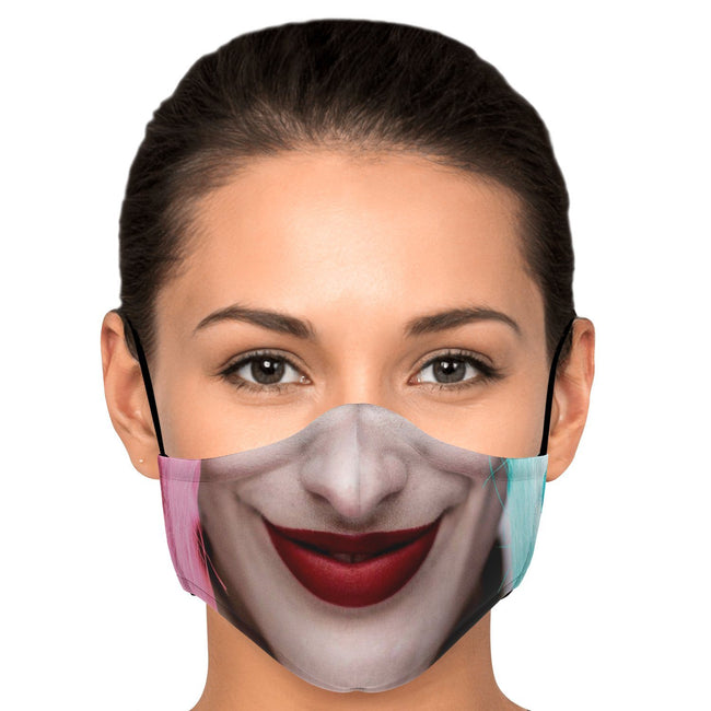 Harley Quinn Batman Premium Carbon Filter Face Mask