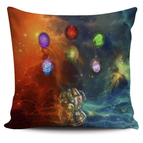 Infinity Stones Pillow Cover