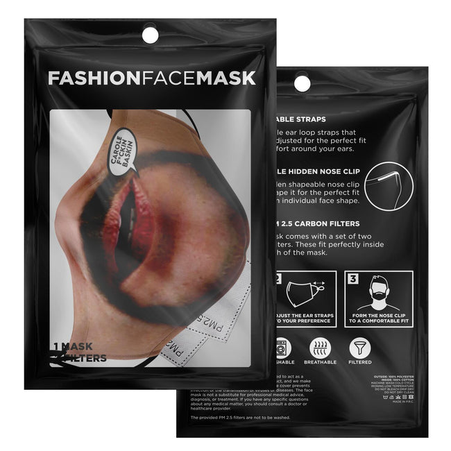 Joe Exotic Face V2 Premium Carbon Filter Face Mask