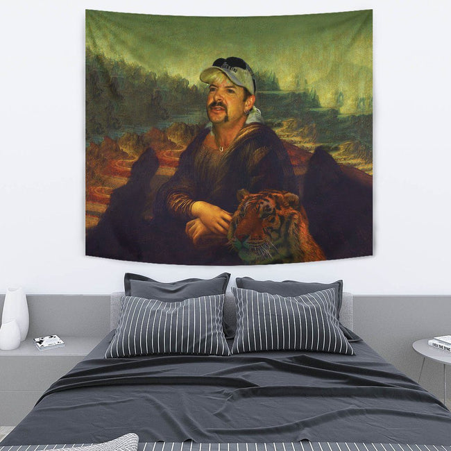 Joe-na Lisa Painting Wall Tapestry