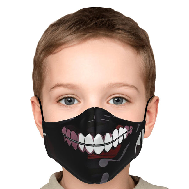 Kaneki's Mask V2 Premium Carbon Filter Face Mask