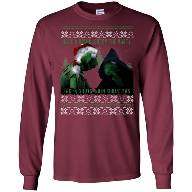 Kermit Me To Me Ugly Christmas Sweater