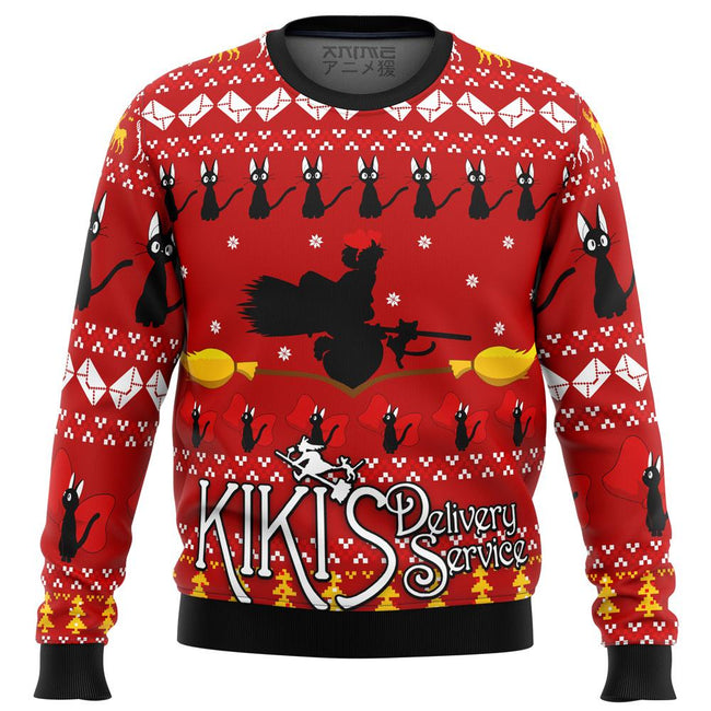 KIKIS DELIVERY SERVICE Premium Ugly Christmas Sweater