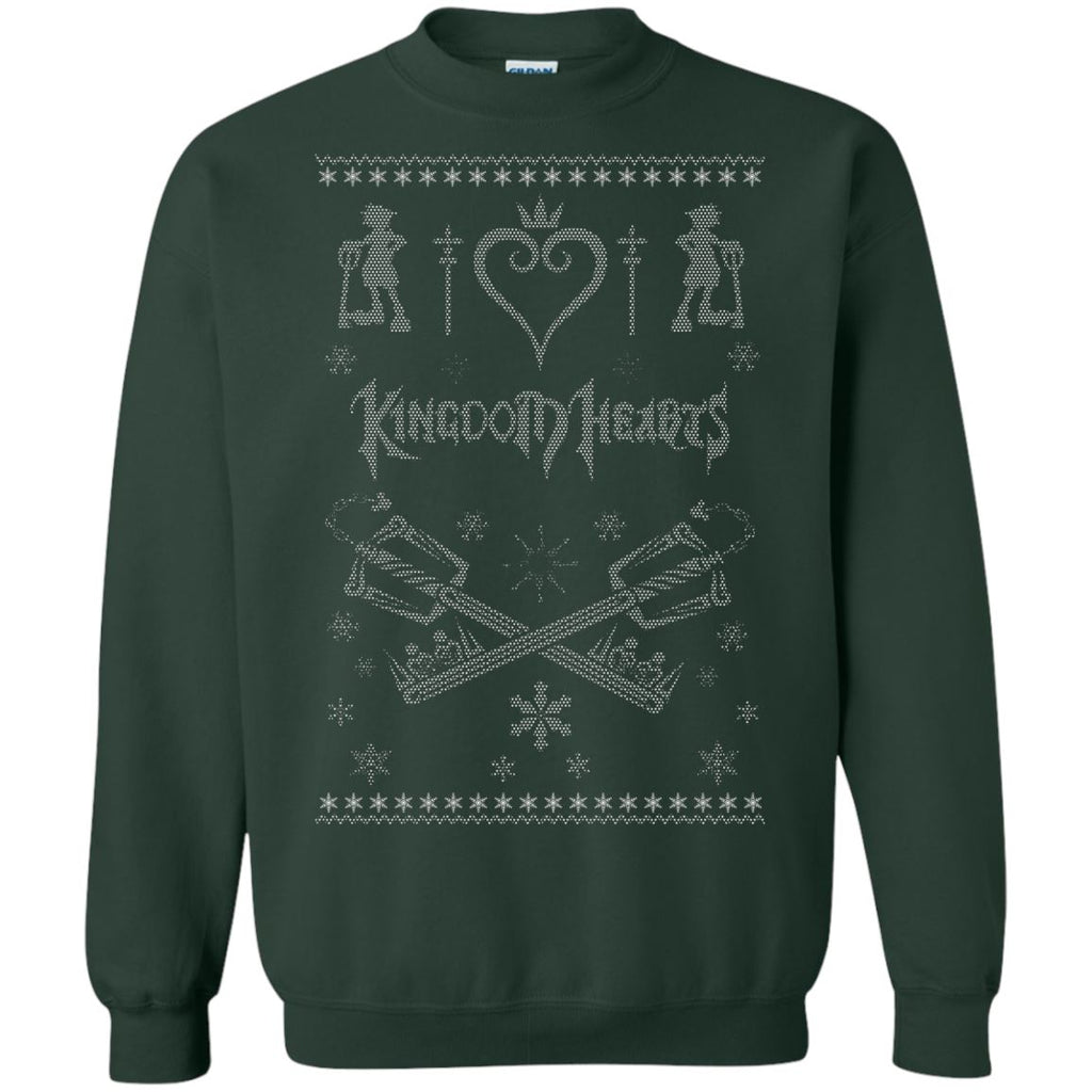 Kingdom Hearts Minimal Ugly Christmas Sweater