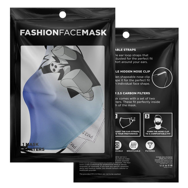 Lord Death Soul Eater Premium Carbon Filter Face Mask