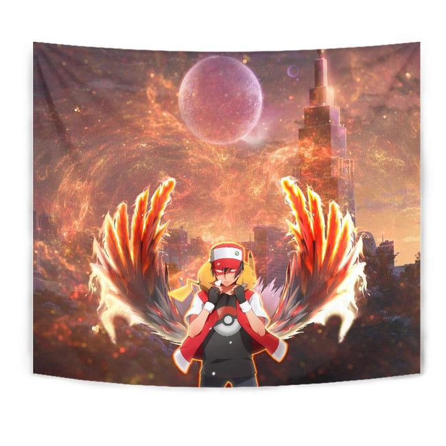 Lucifer Ash Pokemon Wall Tapestry