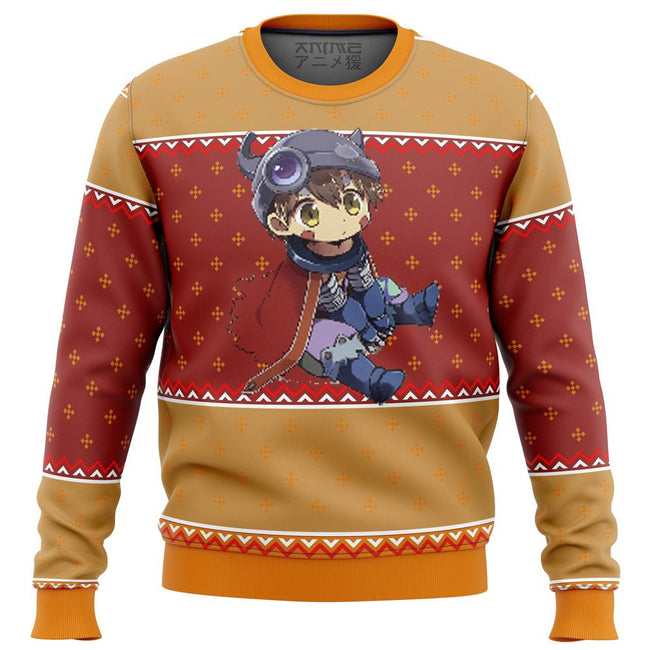 Made in Abyss Reg Premium Ugly Christmas Sweater