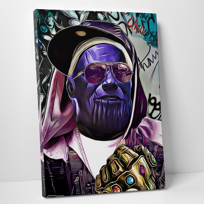 Marvel Thanos Canvas Wall Art