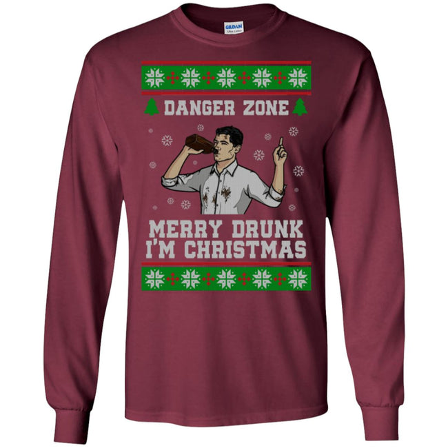 Merry Drunk Archer Ugly Christmas Sweater