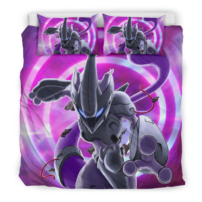 Mewto in Action Pokemon Bedding Set