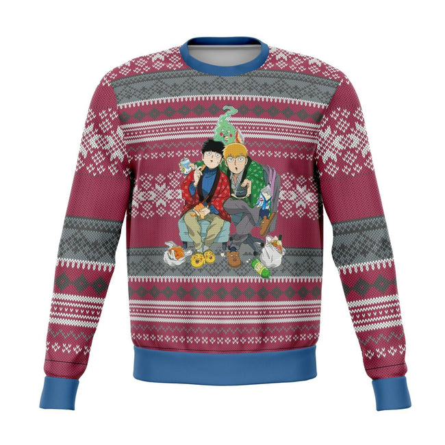 Mob Psycho 100 Premium Ugly Christmas Sweater