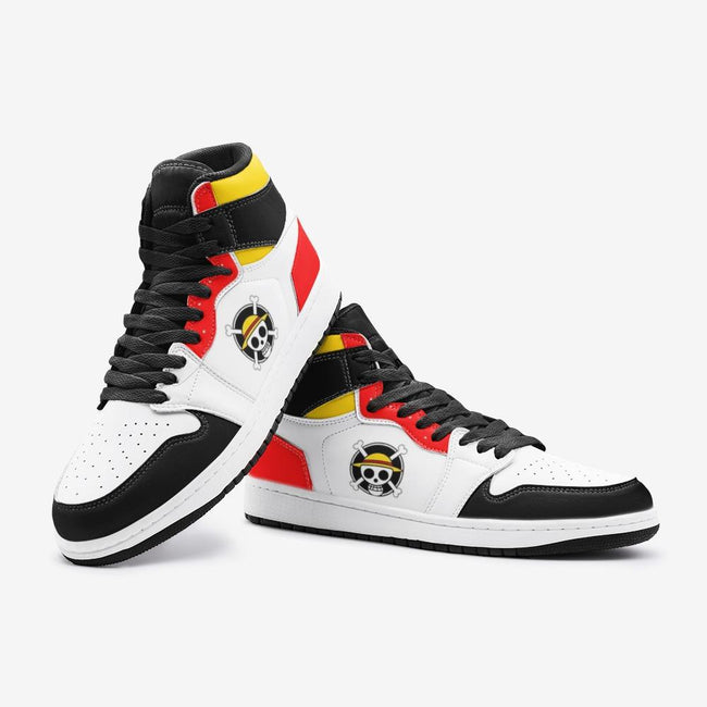 Monkey D Luffy One Piece Custom J-Force™ Shoes