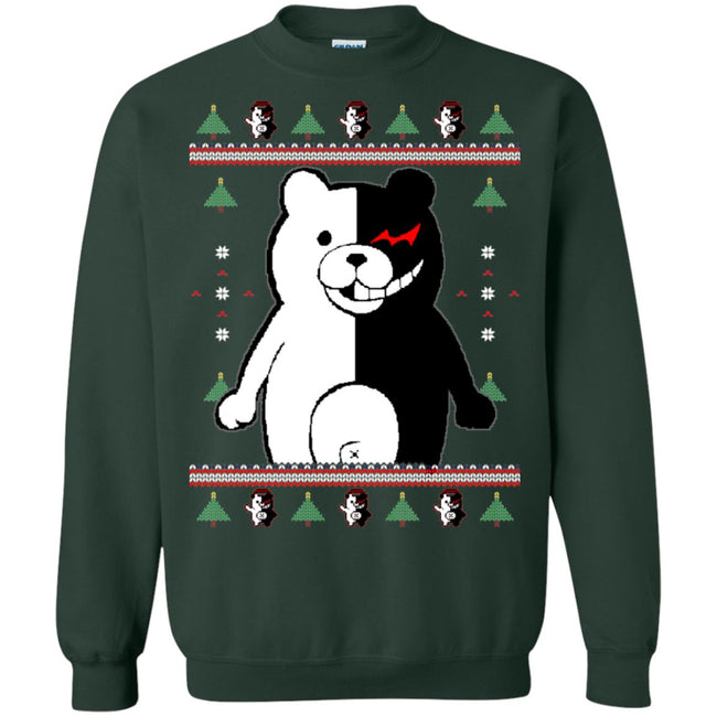 Monokuma Ugly Christmas Sweater